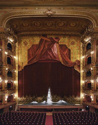 David Leventi, 'Curtain, Teatro Colon, Buenos Aires, Argentina', 2010
