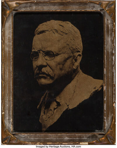 Attributed to Edward Sheriff Curtis, 'Teddy Roosevelt', circa 1920