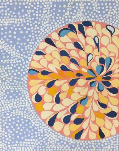 Carol John, 'Pop Art Oil Painting on Canvas: 'Flowered'', 2020