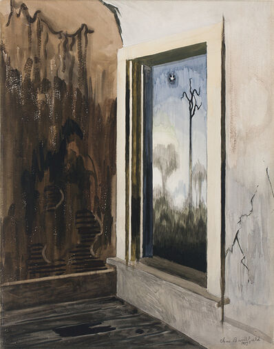 Charles Ephraim Burchfield, 'Window of a Deserted House', 1917