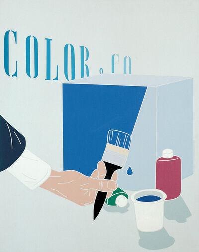 Emilio Tadini, 'Color & Co. (7)', 1969