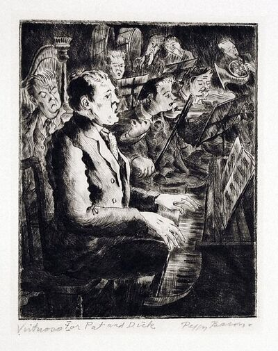 Peggy Bacon, 'Virtuoso', 1933