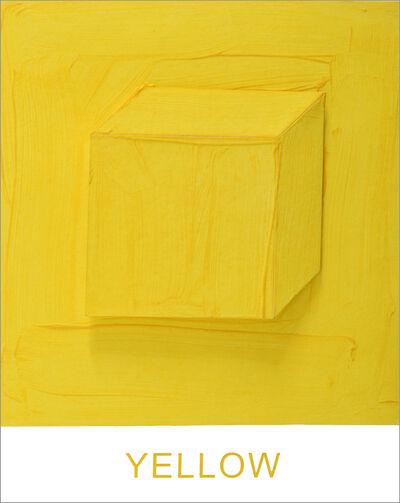 John Baldessari, 'Eight Colorful Inside Jobs: Yellow', 2017