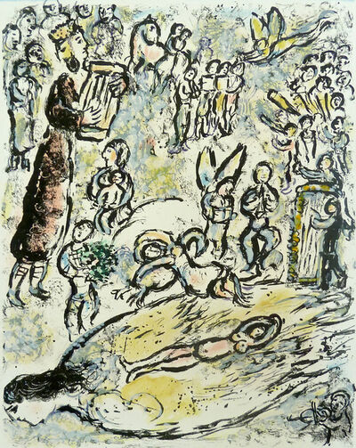 Marc Chagall, 'The Magic Flute II | La Flûte Enchantée II', 1972