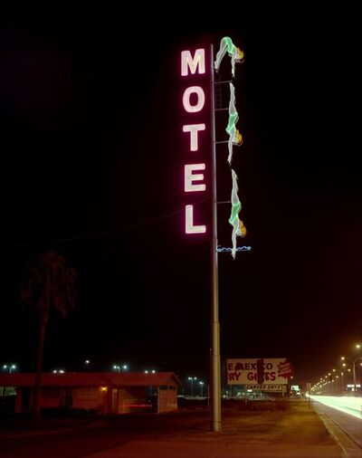 Steve Fitch, 'Starlite Motel, Mesa, Arizona, December 28', 1980