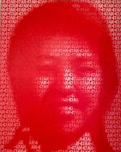 Zhang Dali, 'AK-47 (#37)', 2002