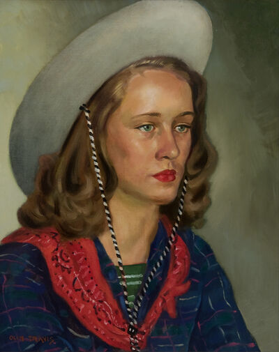 Olin Travis, 'Miss Glover', 1950