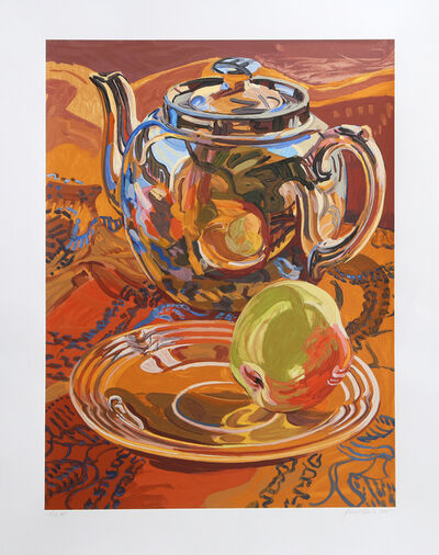 Janet Fish, 'Teapot and Apple', 2007