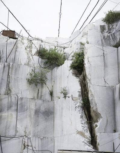 John Ruppert, 'Fissure with Wires / Cave Focolaccia', 2017