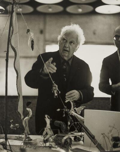 Pedro E. Guerrero, 'Calder with Circus at the Whitney', 1964