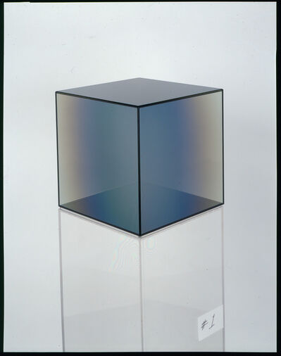 Larry Bell, 'Cube # 1', 2008