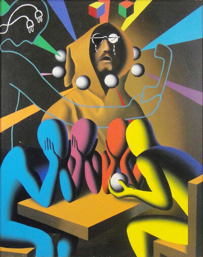 Mark Kostabi, 'Cistercian tears', 2003