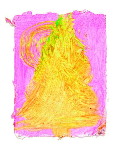 Chris Martin, 'Pink Tree', 2011