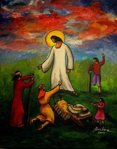 Francisco Borboa, 'Jesus Heals 耶穌治愈', 2017