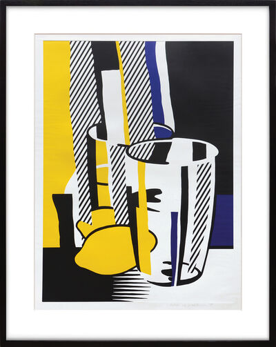 Roy Lichtenstein, 'Before the Mirror.', 1975