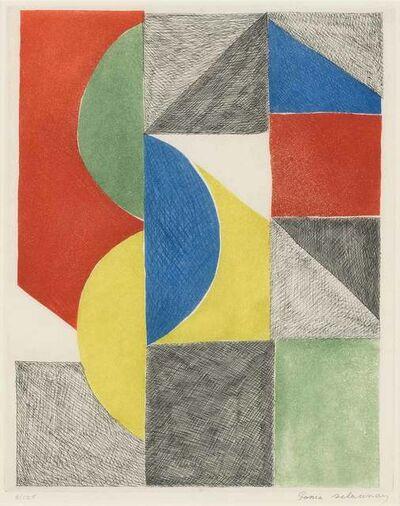 Sonia Delaunay, 'VENISE', 1969
