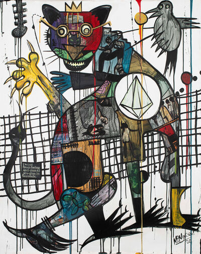 Blessing Ngobeni, 'GOYA (STRAY CAT) II', 2020