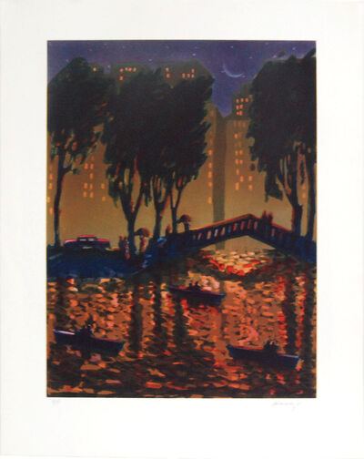 Carlos Almaraz, 'City Bridge', 1989