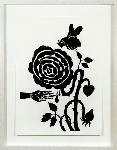 Andrea Dezsö, 'Grimm Drawings: Okerlo', 2013