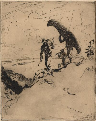 Frank Weston Benson, 'The High Carry.', 1915
