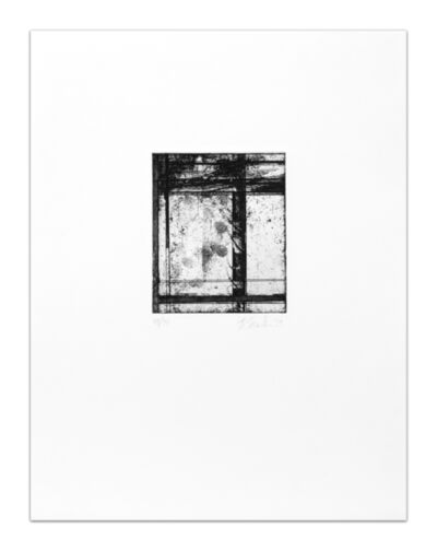 Brice Marden, 'The Skowhegan Print', 1979