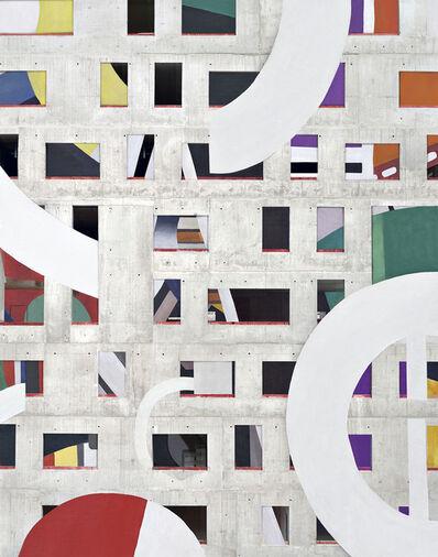 Stéphane Couturier, 'Les Nouveaux Constructeurs, Paris Seine Rive Gauche n°1 ', 2020