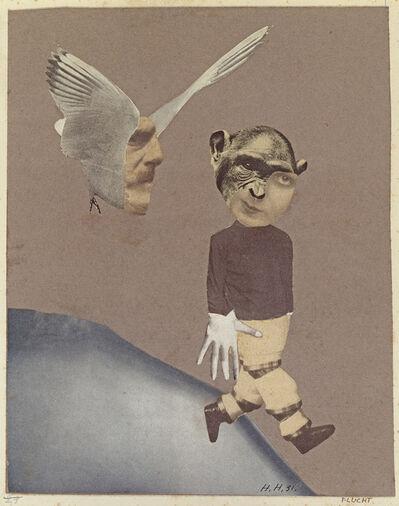 Hannah Höch, 'Flucht (Flight) ', 1931