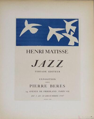 Henri Matisse, 'Jazz - Pierre Beres', 1959