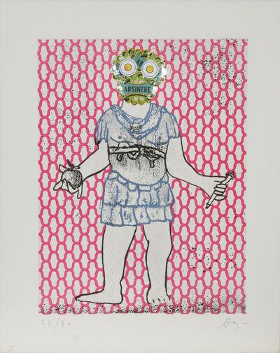 Enrico Baj, 'Flavius Valerius Constantinus Chlorus', 1972