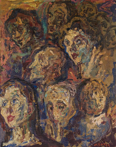 Moses Soyer, 'Apprehension', 1962