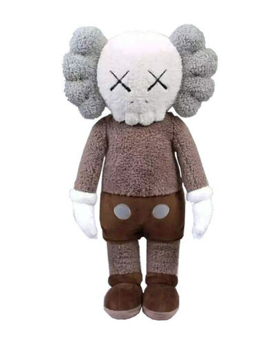 KAWS, ''Holiday Hong Kong Plush' (brown)', 2019