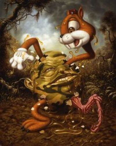 Todd Schorr, 'Futility in the Face of a Hostile World', 2003