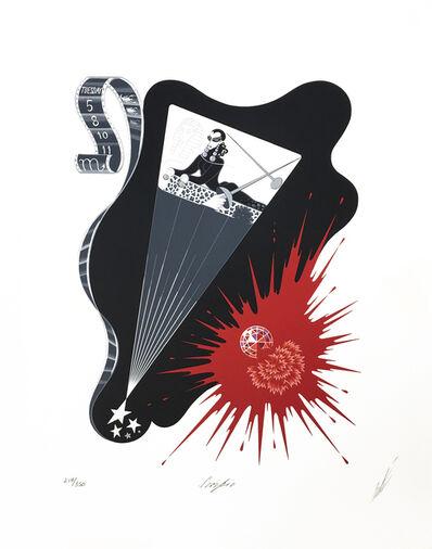 Erté (Romain de Tirtoff), 'SCORPIO', 1982