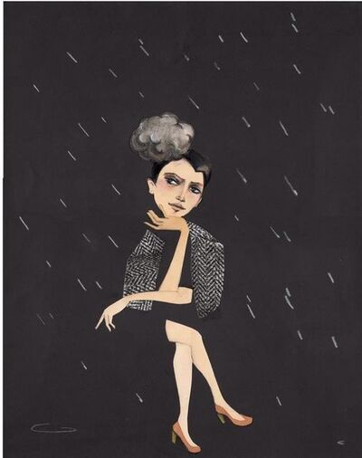 Edwina White, 'Weather Girl', 2017