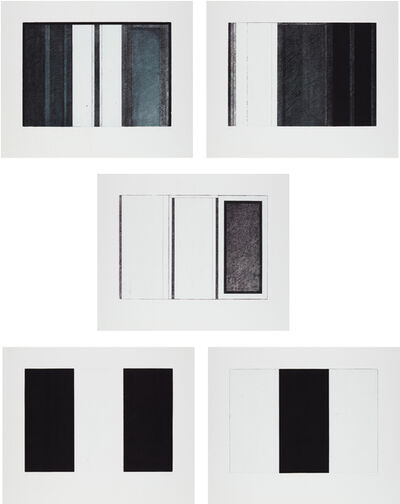 Brice Marden, 'Five Threes', 1976-77
