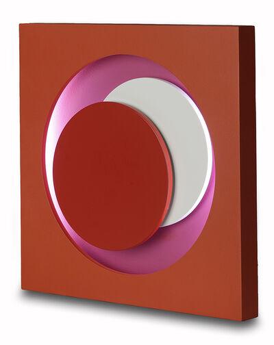 Geneviève Claisse, 'Cercle rouge', 1968-2014