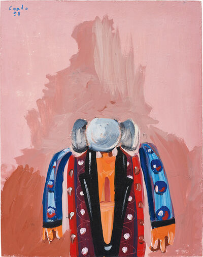 George Condo, 'Multicoloured Man', 1998