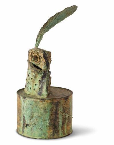 Joan Miró, 'Personnage à la plume', 1970