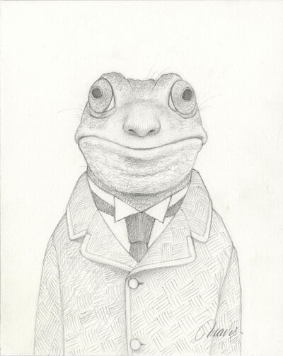 Travis Louie, 'Gary the Frogman Drawing', 2019