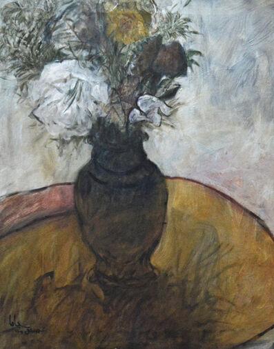 YOSUF JAHA, 'Still Life Vase', 1985
