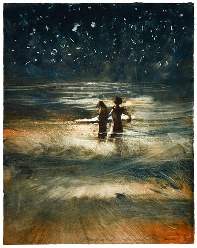 Bill Jacklin, 'Stars and Sea at Night XI', 2015