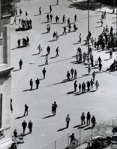 André Kertész, 'Birds Eye View, Washington Square Park, September 25, 1969', 1969