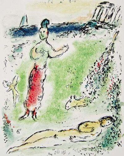 Marc Chagall, 'Athena puts Ulysses to Sleep (The Odyssey Portfolio)', 1989