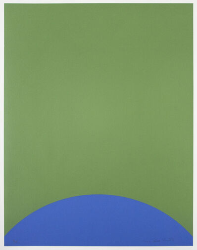 Leon Polk Smith, 'Untitled (Tamarind H)', 1968