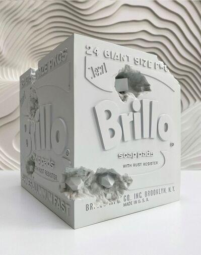 Daniel Arsham, ' Eroded Brillo Box', 2020