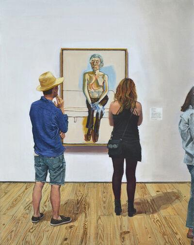 Joe Fig, 'Alice Neel: Andy Warhol/Whitney', 2020