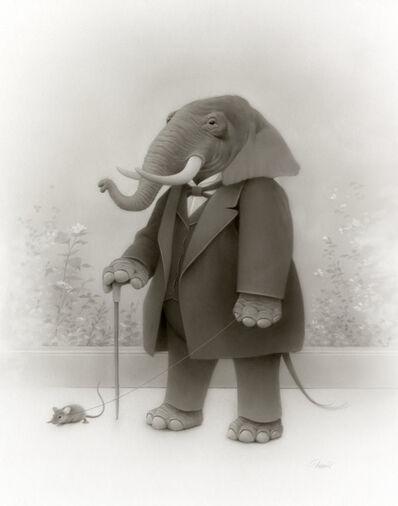 Travis Louie, 'The Elephant Walk', 2020