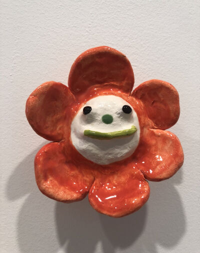 "Katie Kimmel, '""Clown Flower""', 2019"
