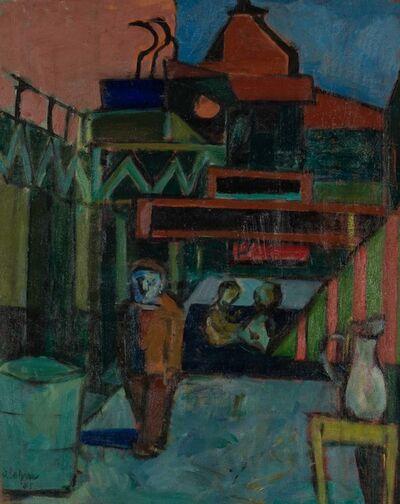 Joseph Solman, 'Across From Macys', 1935