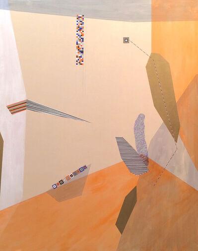 Dannielle Tegeder, 'Orange painting', 2016
